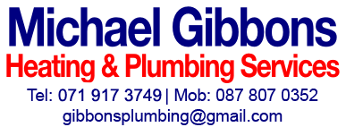 Michael Gibbons Plumber & Heating Sligo Logo